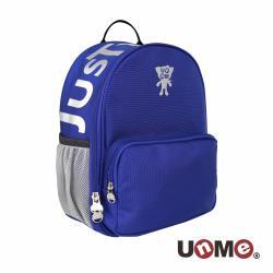【UnMe】時尚飛炫幼兒減壓透氣書包 - 寶藍色