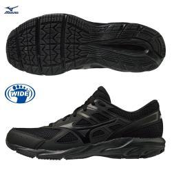 MIZUNO MAXIMIZER 23 男鞋 女鞋 慢跑 健走 3E寬楦 耐磨 工作鞋 黑【運動世界】K1GA210209
