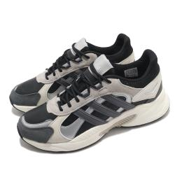 adidas 慢跑鞋 Crazychaos Shadow 男鞋 愛迪達 路跑 緩震 透氣 球鞋穿搭 灰 米 FX9109 [ACS 跨運動]