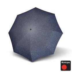 Knirps德國紅點傘 T200經典自動開收晴雨傘-馬賽克格紋