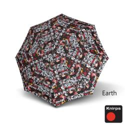 Knirps德國紅點傘 T200經典自動開收晴雨傘-地球