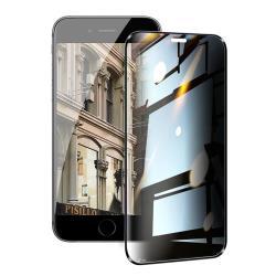 NISDA for iPhone 6 plus / iPhone 6s plus 防窺2.5D滿版玻璃保護貼-黑