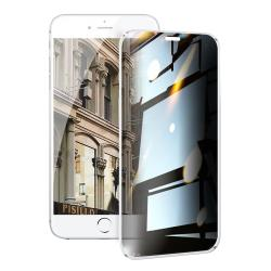 NISDA for iPhone 6 plus / iPhone 6s plus 防窺2.5D滿版玻璃保護貼-白