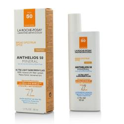 理膚寶水 清爽潤色防曬乳Anthelios 50 Mineral Tinted Ultra Light Sunscreen Fluid