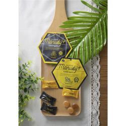 【小鎮蜂蜜台灣唯一總代理】Manudy+麥蘆卡蜂蜜MGO250+喉糖 小包裝四入組 ●蜂膠/生薑口味各兩包● (每包6顆)