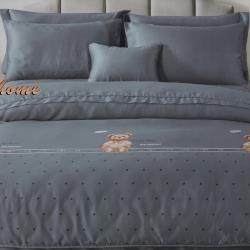 卡莎蘭 幸福小熊 雙人天絲七件式床罩組(100%*40支)