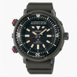 SEIKO 精工 PROSPEX H851-00B0G 太陽能雙顯潛水腕錶 (SNJ031P1)