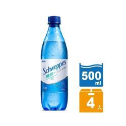 舒味思 氣泡水纖維+寶特瓶500ml(4入/組)