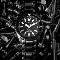 CITIZEN星辰 PROMASTER 鈦黑河豚限量機械錶(NY0105-81E)42mm