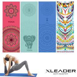 Leader X 波羅多柔細雙面絨 速乾防滑瑜珈鋪巾 4色任選