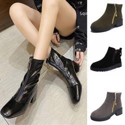 【Alice 】(預購)限量爆殺↘簡約優雅中短筒靴系列(共4款)