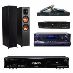 音圓S-2001 N2-350點歌機4TB+Danweigh DW1+MIPRO MR-865PRO+Klipsch R-620F+FBC-9900