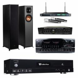 金嗓 CPX-900 F1 點歌機4TB+FPRO BT-889+MIPRO ACT-869+Klipsch R-610F+FBC-9900