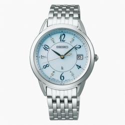 SEIKO 精工 LUKIA V147-0CR0U 太陽能腕錶 (SUT401J1)