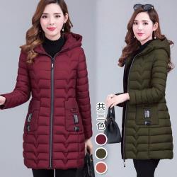 【韓國K.W.】(預購)迷魂情話羽絨棉保暖外套