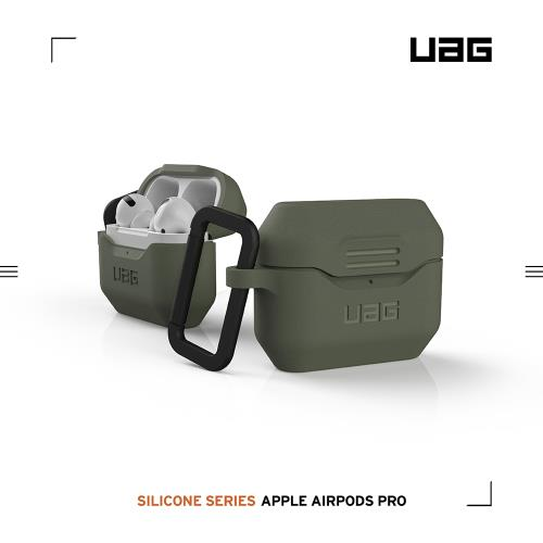 UAG AirPods Pro 耐衝擊防塵保護殼V2-綠