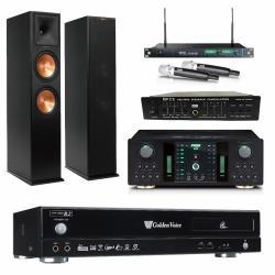 金嗓 CPX-900 R2伴唱機 4TB+FNSD NO-1+MIPRO ACT-869+Klipsch RP-280F+FBC-9900