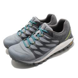 Merrell 戶外鞋 Antora 2 運動 女鞋 運動 穩定 防潑水 彈性 透氣 黃金大底 灰 綠 ML035628 [ACS 跨運動]