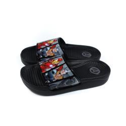MARVEL 漫威 Avengers 復仇者聯盟 拖鞋 黑色 中童 童鞋 MNKS09609 no750