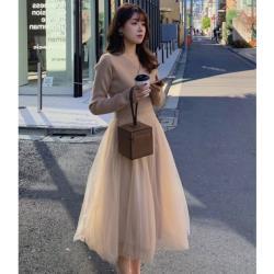 GIFT-法式森系蕾絲甜美女洋裝