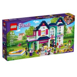 LEGO樂高積木 41449  202101 Friends 姊妹淘系列 - 安德里亞的家