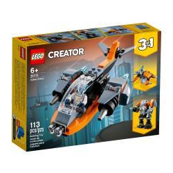 LEGO樂高積木 31111  202101 創意大師 Creator 系列 - 電子無人機 Cyber Drone