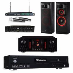 金嗓 CPX-900 F1 點歌機4TB+FNSD A-450+MIPRO ACT-869+CERWIN-VEGA XLS12+FBC-9900