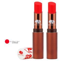 【ORIGINS 品木宣言】心花綻放精油潤色護唇膏3.5g#05 x 2 (效期至2022年01月)