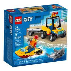 LEGO樂高積木 60286  202101 City 城市系列 - 海灘救援 ATV