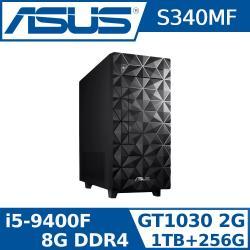ASUS 華碩 H-S340MF-59400F032T (i5-9400F/8G/256G SSD+1TB/GT1030/300W)