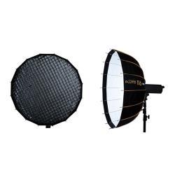 贈卡口轉接環~HADSAN PLUTO快收雷達罩 116 + 快收雷達罩 116 蜂巢 柔光罩 柔光箱 銀/白(公司貨)