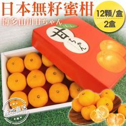 日本博多山川無杍蜜柑*2盒
