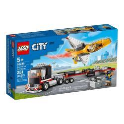 LEGO樂高積木 60289  202101 City 城市系列 - 空中特技噴射機運輸車