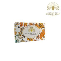 The English Soap Company 檀香 Sandalwood 190g 乳木果油復古香氛皂