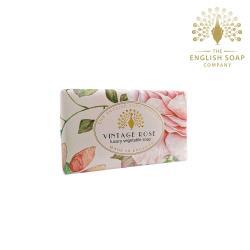 The English Soap Company 玫瑰 Rose 190g 乳木果油復古香氛皂
