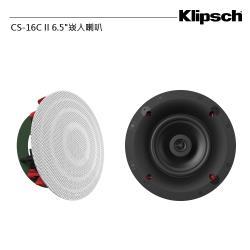 美國 Klipsch 古力奇 CS-16C II 6.5崁入喇叭 一對