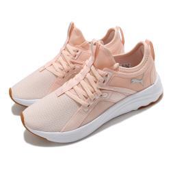 Puma 慢跑鞋 Softride Sophia 運動 女鞋 輕量 透氣 舒適 避震 路跑 健身 粉橘 白 19486203 [ACS 跨運動]