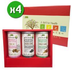 美好人生 高鈣養生沖調禮盒x4盒(3罐/盒) _附提袋