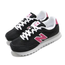 New Balance 休閒鞋 527 低筒 運動 女鞋 紐巴倫 基本款 簡約 麂皮 穿搭 黑 粉 WL527PCAB [ACS 跨運動]