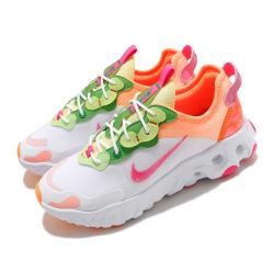 Nike 休閒鞋 React Art3mis 運動 女鞋 輕量 透氣 舒適 避震 簡約 球鞋 穿搭 白 粉 DD8483168 [ACS 跨運動]