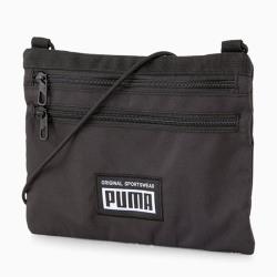 【現貨】PUMA Academy 側背包 隨身小包 可調式背帶 反光 黑【運動世界】07803201