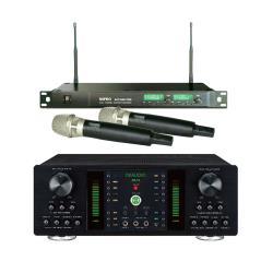 OKAUDIO DB-7A 250W 大功率卡拉OK混音擴大機+MIPRO ACT-869 PRO 無線麥克風