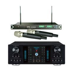 OKAUDIO DB-8A 350W 大功率卡拉OK混音擴大機+MIPRO ACT-869 PRO 無線麥克風