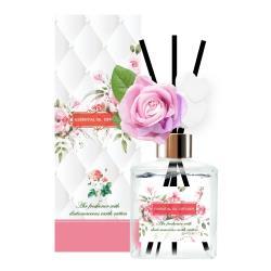 QIDINA 花樣玫瑰法國精油藻土擴香瓶 200ML