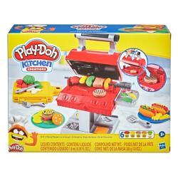 【 Play-Doh 培樂多黏土 】 廚房系列 BBQ美式烤肉遊戲組(F0652)