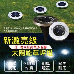新激亮級太陽能草坪燈(2入組)