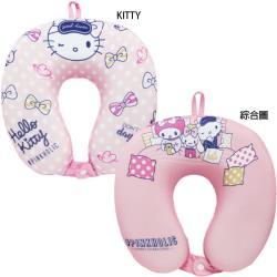 三麗鷗HELLO KITTY頸枕U型枕記憶頸枕 SS10264/SS10265【卡通小物】