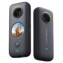 送128G+隱形自拍桿+子彈時間繩盒+鏡頭保護套+保護貼~ Insta360 One X2 全景 360度 運動相機 攝影機(ONEX2 公司貨