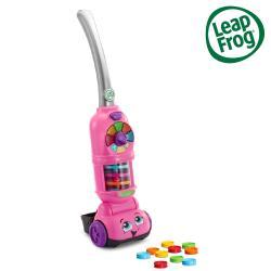 【LeapFrog】走走數數吸塵器(粉)