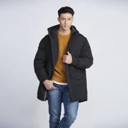 F.X.L北歐時尚抗寒中長版大衣